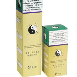 Tai-Chi Single Acupuncture Needles - Surgical Stainless Steel - Packs of 100